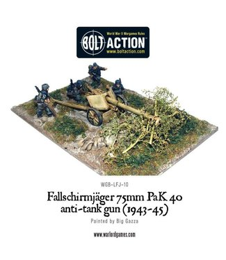 Bolt Action Fallschirmjager 75mm PaK 40 anti-tank gun (1943-45)