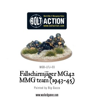 Bolt Action Fallschirmjager MG42 MMG team (1943-45)