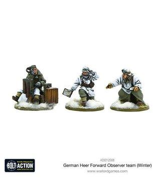 Bolt Action German Heer Forward Observer team (Winter)