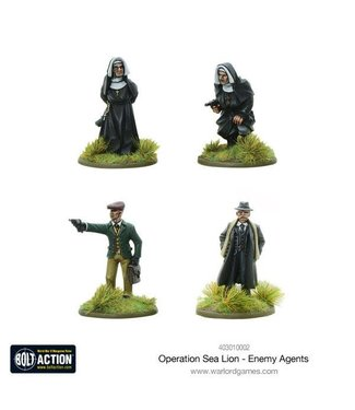 Bolt Action Enemy Agents