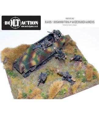 Bolt Action Raus! Dismounted panzergrenadiers