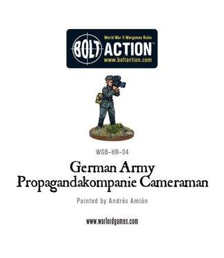 Bolt Action German Army Propagandakompanie Cameraman