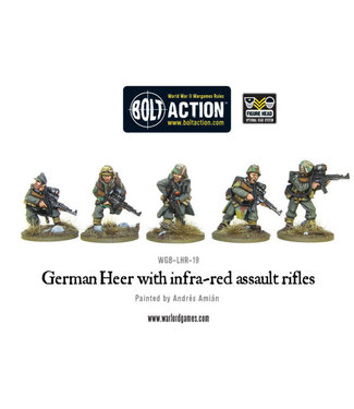 Bolt Action German Heer with infra-red assault rifles