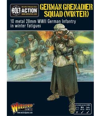 Bolt Action German Grenadier squad (winter)