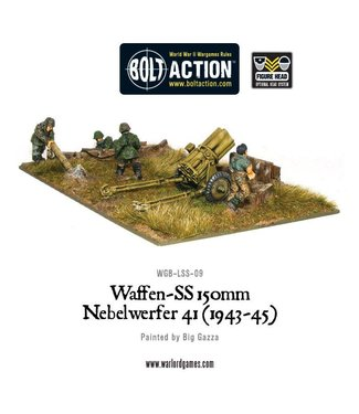 Bolt Action Waffen-SS 150mm Nebelwerfer 41 (1943-45)