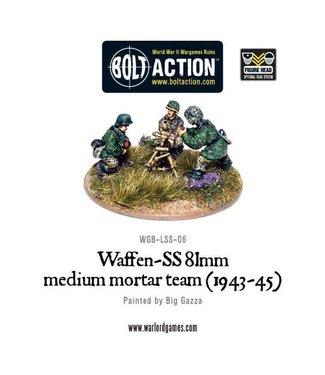 Bolt Action Waffen-SS 81mm medium mortar team (1943-45)