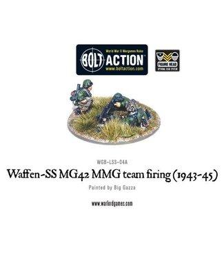 Bolt Action Waffen-SS MG42 MMG team firing (1943-45)