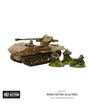 Bolt Action Waffen-SS Pak 40 auf RSO
