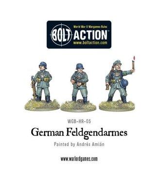 Bolt Action German Feldgendarmes