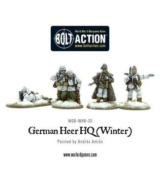 Bolt Action German Heer HQ (Winter)