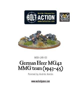 Bolt Action German Heer MG42 MMG Team (1943-45)