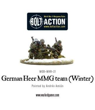 Bolt Action German Heer MMG team (Winter)