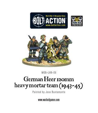 Bolt Action German Heer 120mm heavy mortar team (1943-45)