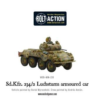 Bolt Action Sd.Kfz 234-2 Luchsturm armoured car