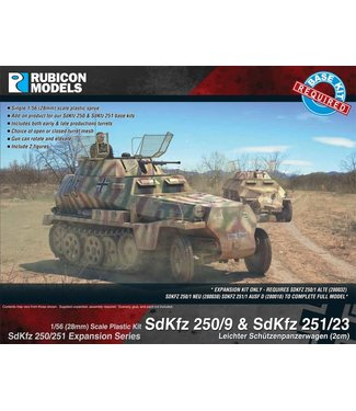 Rubicon Models SdKfz 250/9 & 251/23 - 2cm KwK 38 Autocannon Upgrade set