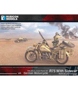 Rubicon Models German Motorcycle R75 with Sidecar (DAK)