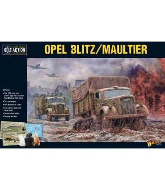 Bolt Action Opel Blitz-Maultier