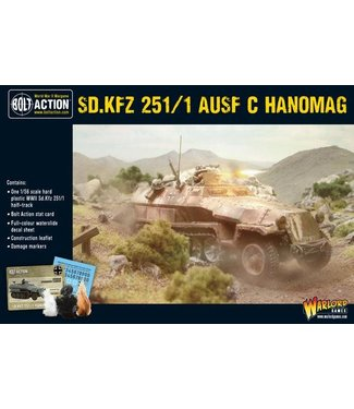 Bolt Action Sd.Kfz 251 C Hanomag