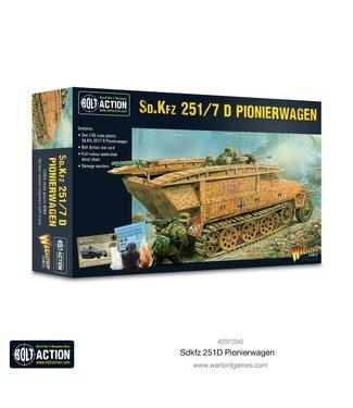 Bolt Action Sd.Kfz 251 D Ausf D Pionierwagen