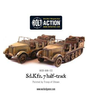 Bolt Action Sd.Kfz 7 Half track