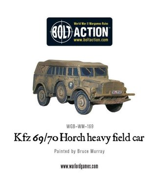 Bolt Action Kfz 69/70 Horch heavy field car