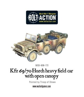 Bolt Action Open-topped Kfz 69/70 Horch 1a