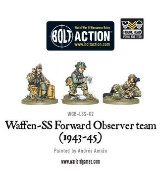 Bolt Action Waffen-SS Forward Observer team (1943-45)