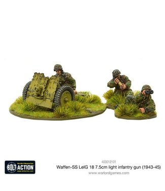 Bolt Action Waffen-SS LeIG 18 7.5cm light infantry gun (1943-45)