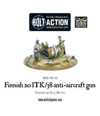 Bolt Action Finnish 20 ITK/38 anti-aircraft gun