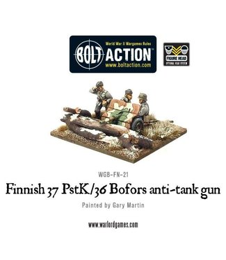 Bolt Action Finnish 37 PstK-36 Bofors anti-tank gun