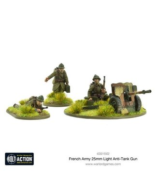 Bolt Action French Army 25mm light anti-tank gun