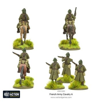 Bolt Action French Army Cavalry A