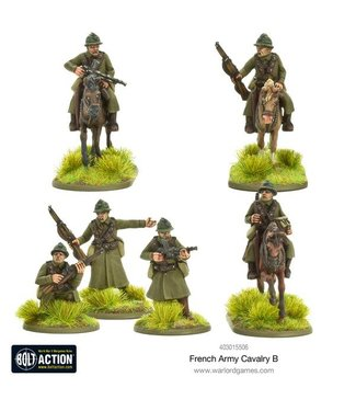 Bolt Action French Army Cavalry B
