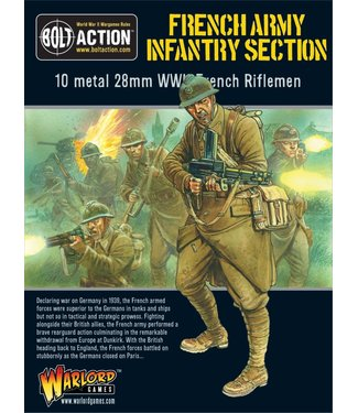 Bolt Action French army infantry Section