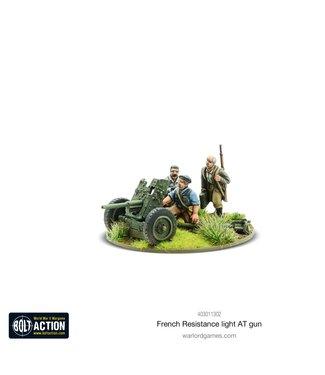 Bolt Action French Resistance light anti-tank gun