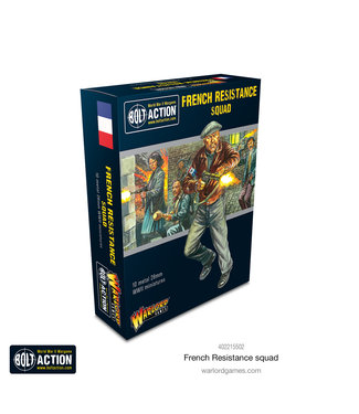 Bolt Action French Resistance Squad