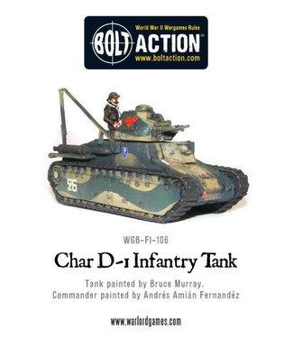 Bolt Action Renault D-1, Infantry tank