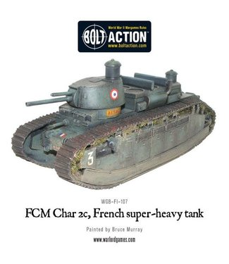 Bolt Action FCM Char 2c super-heavy tank