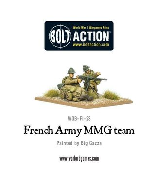 Bolt Action French Army MMG team