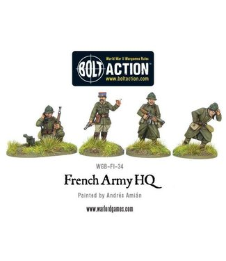 Bolt Action French Army HQ