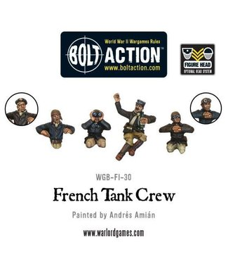 Bolt Action French tank crew