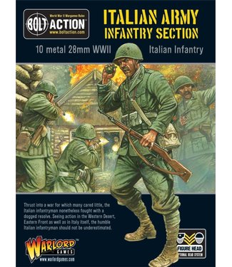 Bolt Action Italian Army infantry section