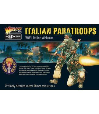 Bolt Action Italian Paratroops