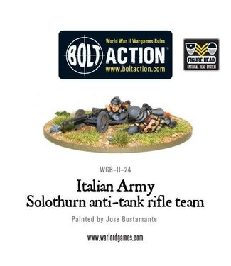 Bolt Action Italian Army Solothurn anti-tank rifle team