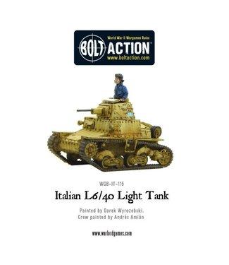 Bolt Action L6/40 Light Tank