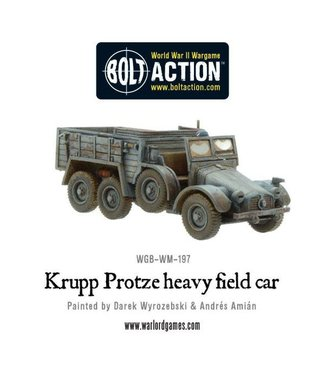 Bolt Action Krupp Protze heavy field car