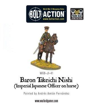 Bolt Action Baron Nishi (Imperial Japanese officer on horse)