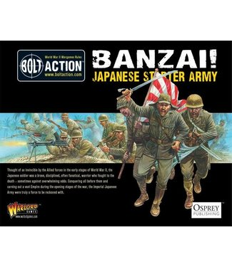 Bolt Action Banzai! Imperial Japanese Army starter army