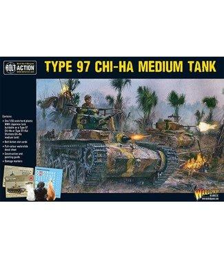 Bolt Action Chi-Ha Japanese tank