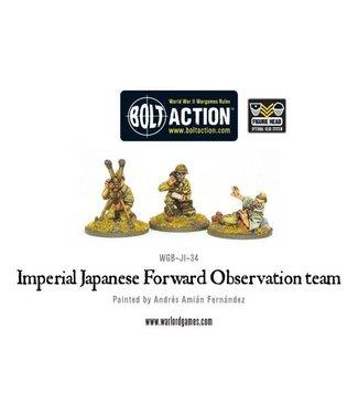 Bolt Action Imperial Japanese FOO team